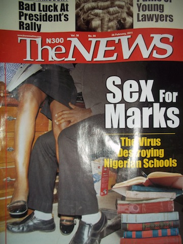 """Hawking Sex for Marks""- From citadels of learning, Nigerian tertiary ..."